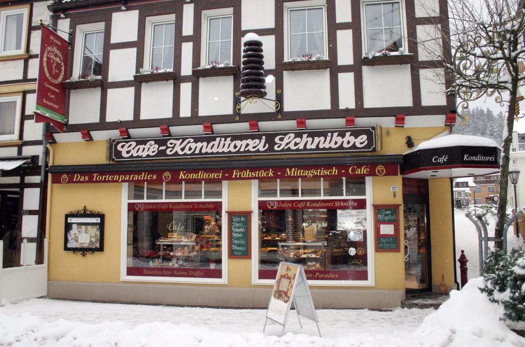 Die Café-Konditorei Schnibbe in Bad Lauterberg. Foto: Silke Liebig-Braunholz