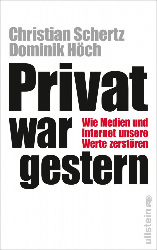 Buch Privat war gestern