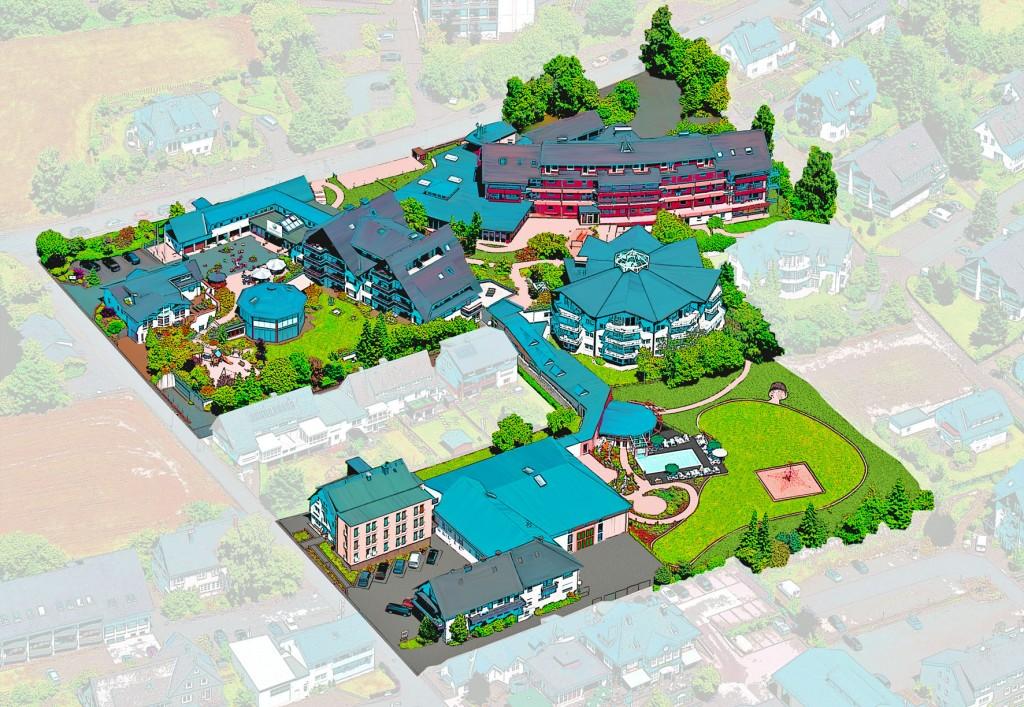 Das Sonnenpark-Gelände auf 18.000 Quadratmeter Fläche. Grafik: Sonnenpark