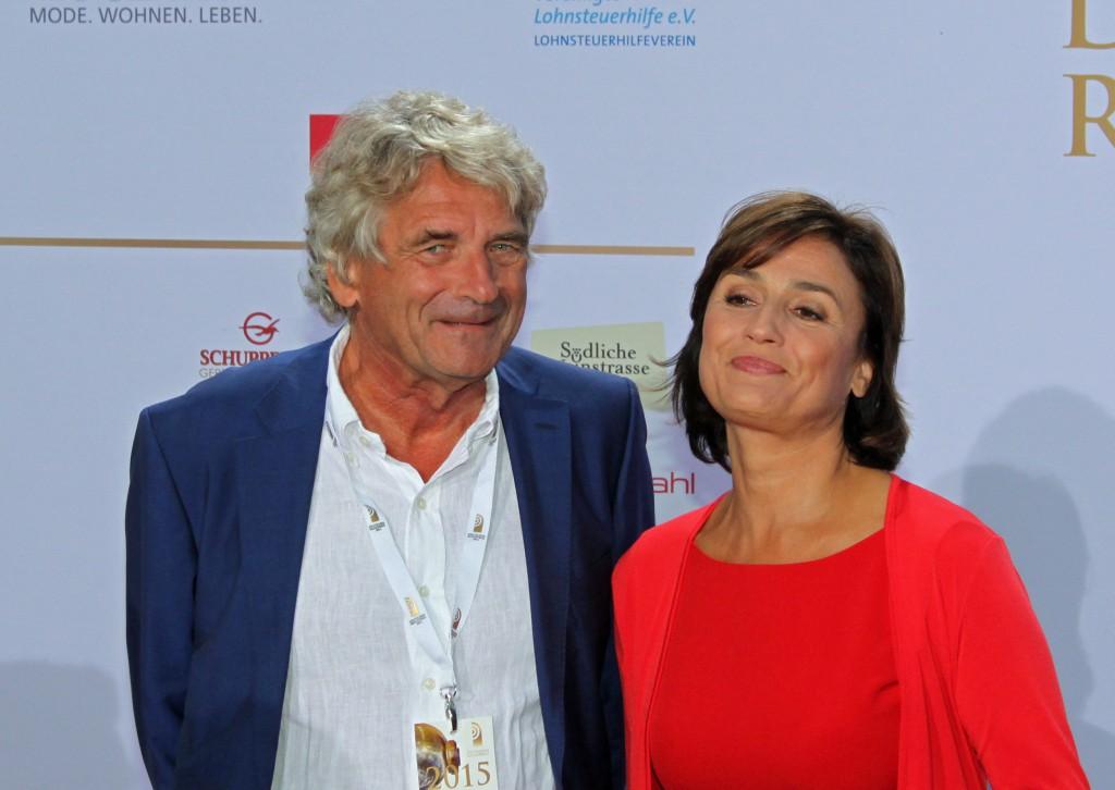 Alexander Elbertzhagen und Sandra Maischberger