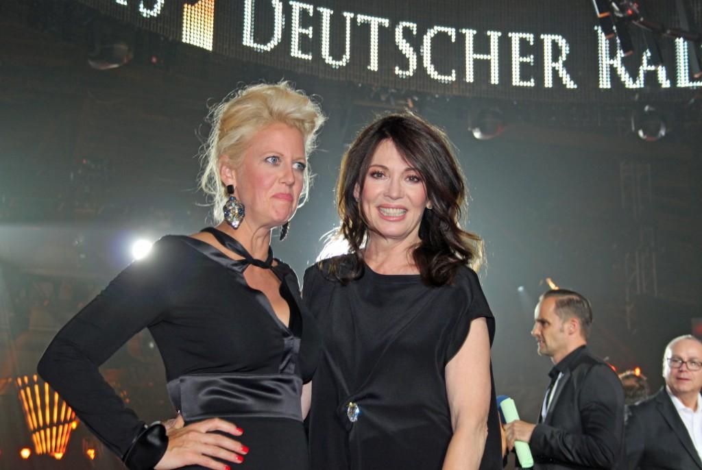 Barbara Schöneberger und Iris Berben