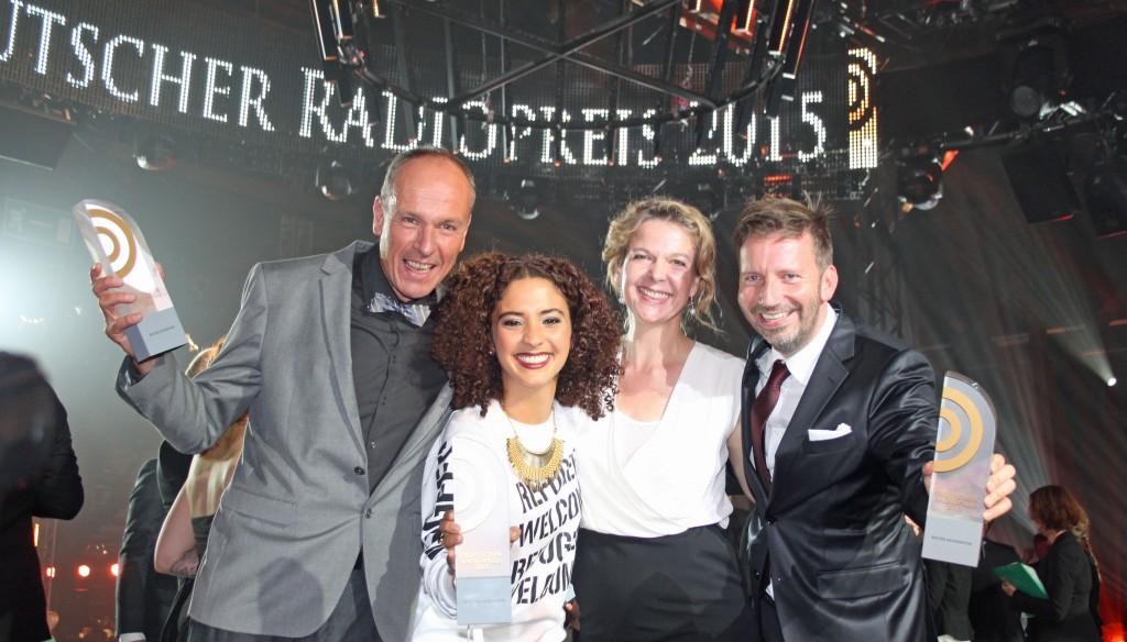 Michael Kohtes und Siham El-Maimouni und Valerie Weber und Thorsten Schorn