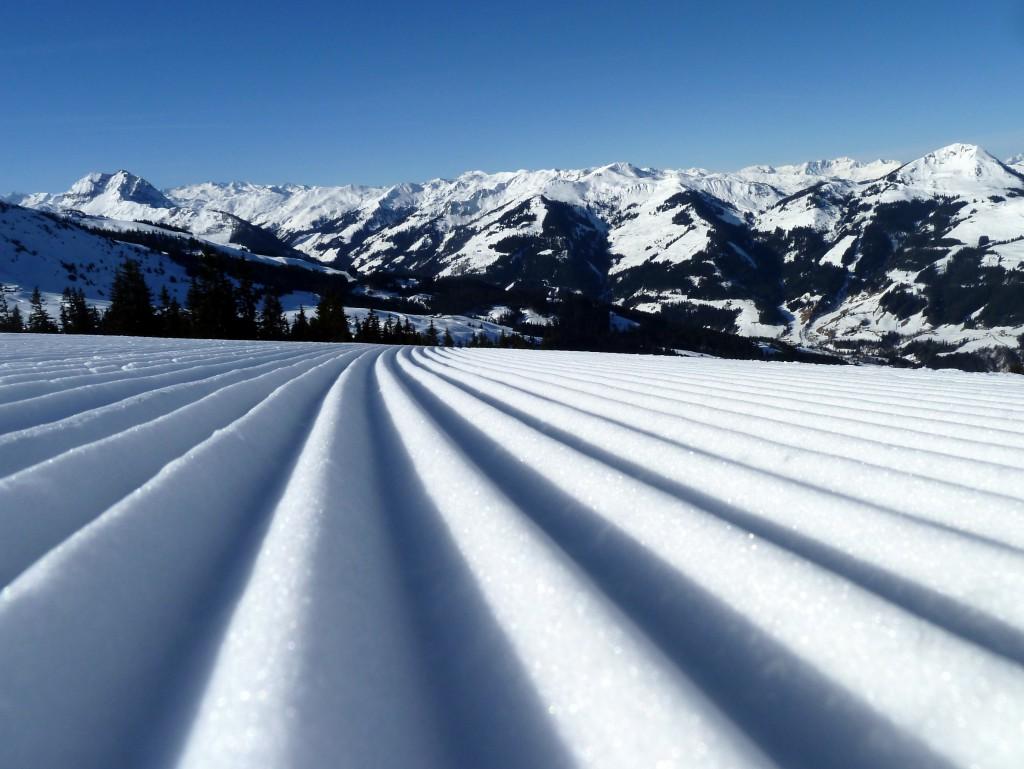 Kitzbühel in Tirol erstreckt sich vom Hahnenkamm bis zum Pass Thurn. Fotos: Skiresort.de