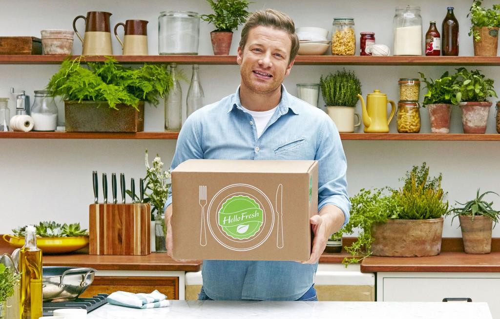 HelloFresh bringt Jamie Oliver in Deutschlands Küchen. Foto: obs/HelloFresh GmbH