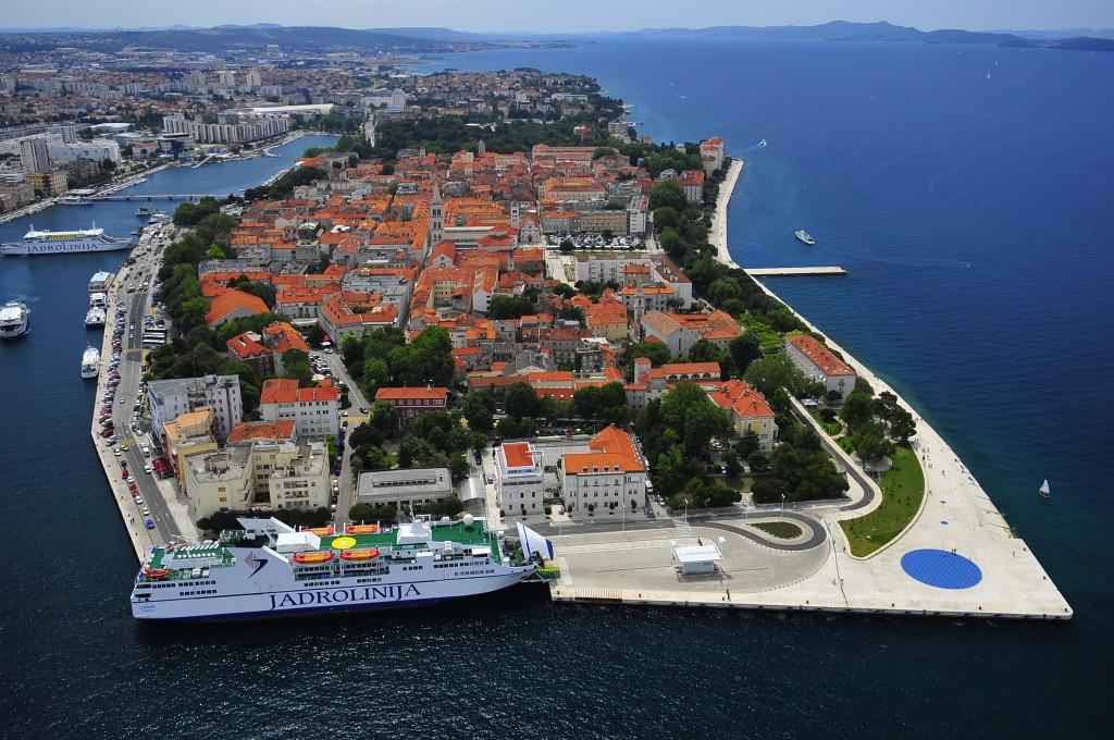 Zadar: Wo das Meer orgelt und ein Gruß an die Sonne geht Foto: Ivo Pervan