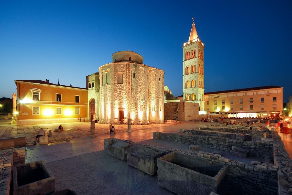 Das Wahrzeichen von Zadar Foto: Mario Romulić und Dražen Stojčić