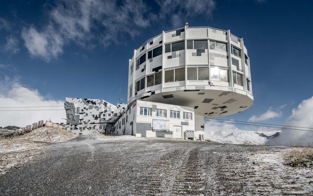 Skigebietes LAAX