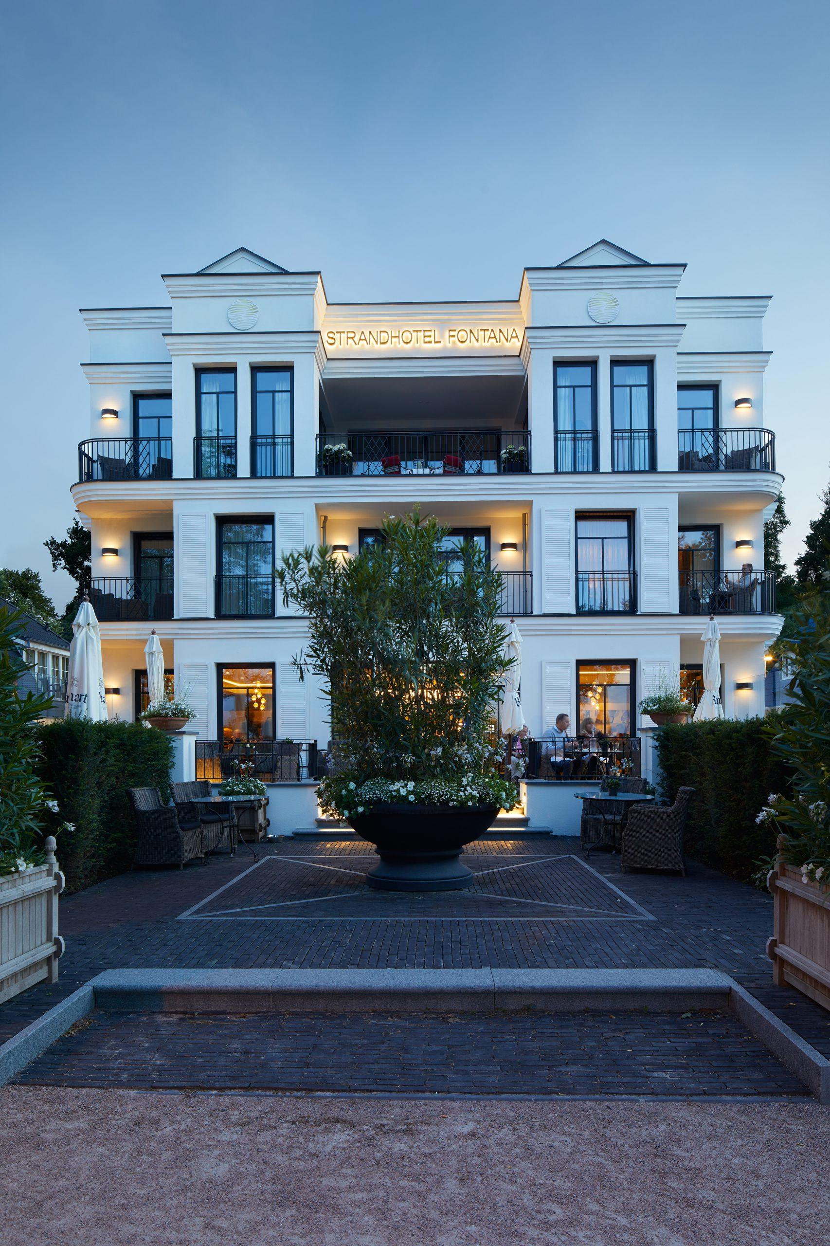 Strandhotel Fontana in Corona-Krise