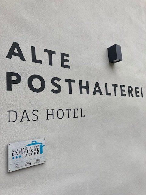 Alte Posthalterei bietet bayerische Küche